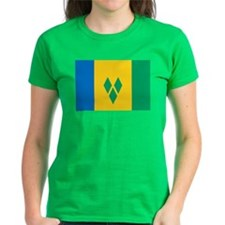 St Vincent Grenadines Flag Tee