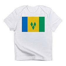 St Vincent Grenadines Flag Infant T-Shirt