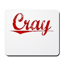 Cray, Vintage Red Mousepad