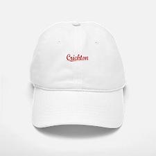 Crichton, Vintage Red Baseball Baseball Cap