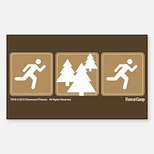 Run Forrest Run Decal