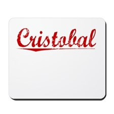 Cristobal, Vintage Red Mousepad