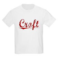 Croft, Vintage Red T-Shirt