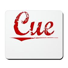 Cue, Vintage Red Mousepad