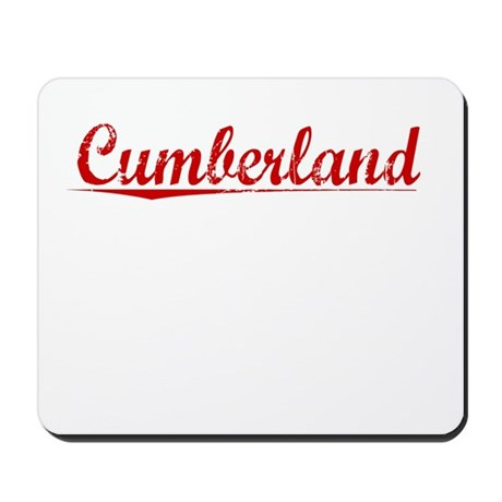 Cumberland, Vintage Red Mousepad