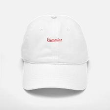 Cummins, Vintage Red Baseball Baseball Cap