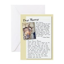 "Dear Murray ""Halter Broke"" card"