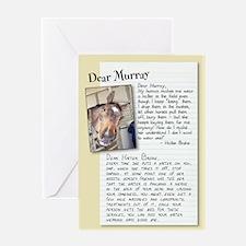 """Dear Murray """"Halter Broke"""" card"""