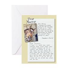 """Dear Murray """"Clinic"""" Card"""