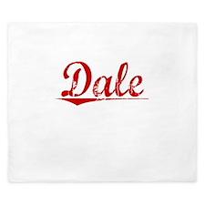 Dale, Vintage Red King Duvet