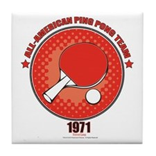 Ping Pong Tile Coaster