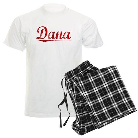 Dana, Vintage Red Men's Light Pajamas