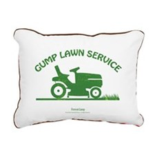 Gump Lawn Service Rectangular Canvas Pillow