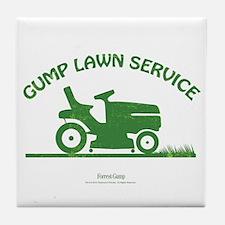 Gump Lawn Service Tile Coaster