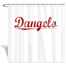 Dangelo, Vintage Red Shower Curtain