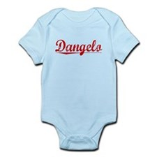 Dangelo, Vintage Red Infant Bodysuit