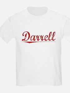 Darrell, Vintage Red T-Shirt