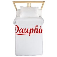 Dauphin, Vintage Red Twin Duvet