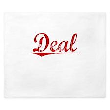 Deal, Vintage Red King Duvet