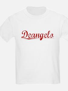 Deangelo, Vintage Red T-Shirt
