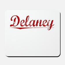 Delaney, Vintage Red Mousepad