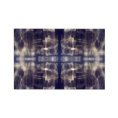 Light Reflection Rectangle Magnet