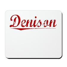 Denison, Vintage Red Mousepad