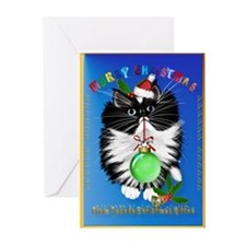 A Tuxedo Merry Christmas Greeting Cards (Pk of 20)