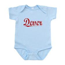 Dever, Vintage Red Infant Bodysuit