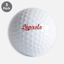 Dipaolo, Vintage Red Golf Ball