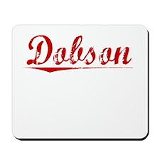 Dobson, Vintage Red Mousepad