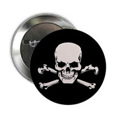 "Basic BAMF Skull 2.25"" Button"