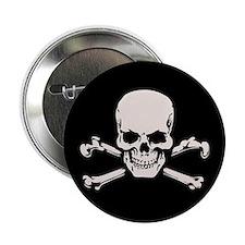 """Basic BAMF Skull 2.25"""" Button"""