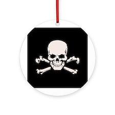 Basic BAMF Skull Ornament (Round)