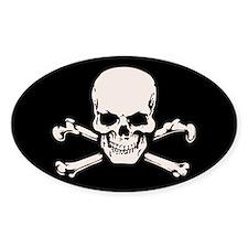 Basic BAMF Skull Bumper Stickers