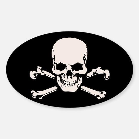 Basic BAMF Skull Sticker (Oval)