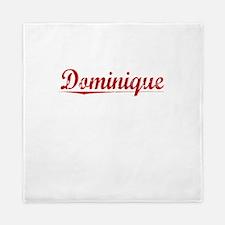 Dominique, Vintage Red Queen Duvet