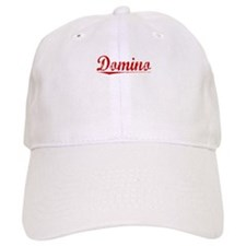 Domino, Vintage Red Baseball Cap