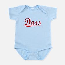 Doss, Vintage Red Infant Bodysuit