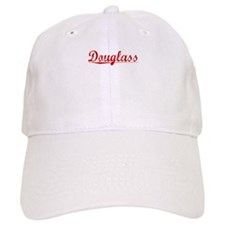 Douglass, Vintage Red Baseball Cap
