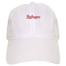 Dubuque, Vintage Red Baseball Cap