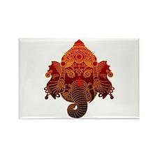 Ganesha Rectangle Magnet