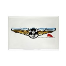 Wings Rectangle Magnet
