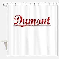 Dumont, Vintage Red Shower Curtain