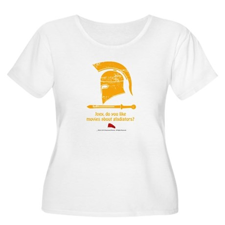 Airplane Gladiator Women's Plus Size Scoop Neck T-
