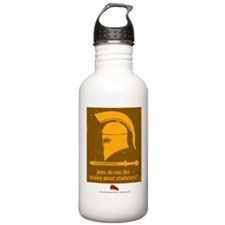 Airplane Gladiator Water Bottle