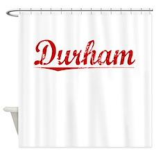 Durham, Vintage Red Shower Curtain