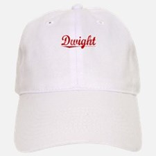 Dwight, Vintage Red Baseball Baseball Cap