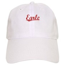 Earle, Vintage Red Baseball Cap