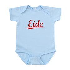 Eide, Vintage Red Infant Bodysuit